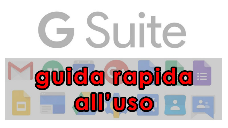 gsuite guidarapida